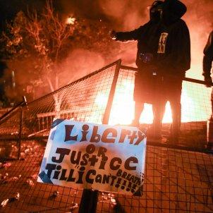 protestes minesota mort home negre policia - Efe