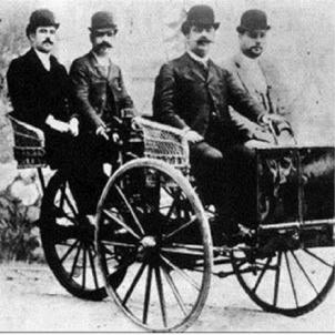 Tricicle Bonet. Fotografia del tricicle. Font Viquipedia