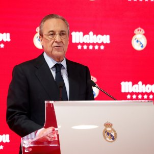 Florentino Perez president Reial Madrid Europa Press