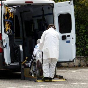 Ambulancia Lleida coronavirus - ACN