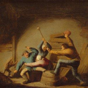 Baralla de pagesos (Adriaen van Ostade, 1637)