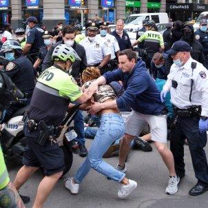 Protestas Nueva York EFE