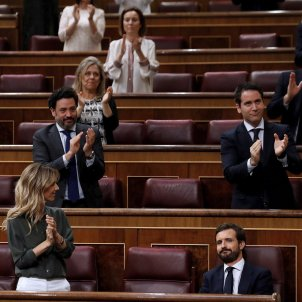 aplaudiments Pablo casado Congrés EFE