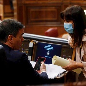 Pedro Sánchez Laura Borràs Congrés EFE