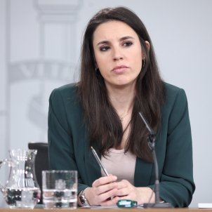 ministra igualdad Irene Montero EP