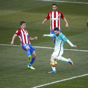 Leo Messi Barça Atlètic de Madrid EFE