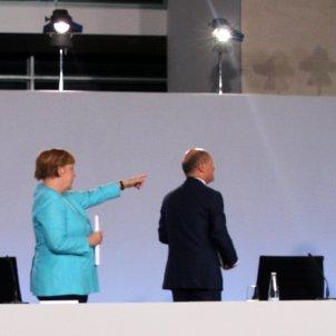 Angela Merkel i ministre de Finances, Olaf Scholz