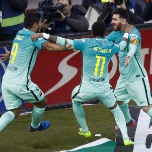 Messi Suárez Neymar EFE