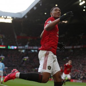 Anthony Martial Manchester United Premier Europa Press
