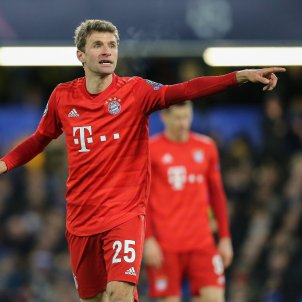Thomas Muller Bayern Munic Europa Press