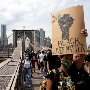 protesta nova york racisme EFE