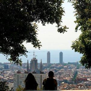 Vista recurs ciutat de Barcelona. Foto: Efe