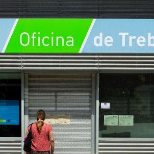 Ocupació atur Oficina SEPE SOC EFE