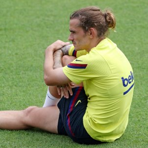 Antoine Griezmann Barca entrenament @FCB