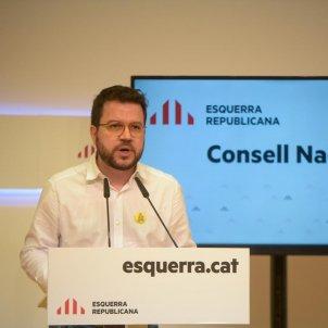 Pere aragones consell nacional ERC - ERC