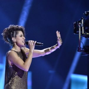 Barei, la representant espanyola a Eurovisió / Efe