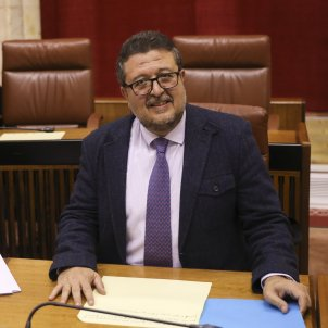 Francisco Serrano Vox andalusia - María José López / Europa Press