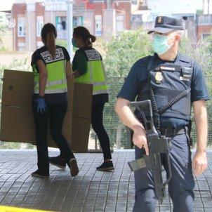 Policia espanyola Consorci Esportiu L'Hospitalet ACN