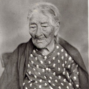 Mor Eulàlia Mariné, la supercentenària californiana que va viure 120 anys. Fotografia d'Eulàlia Mariné (circa 1870). Font Arxiu Històric d'Encino