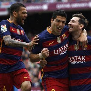 Alves-Suarez-Messi-FCB-Barça-efe