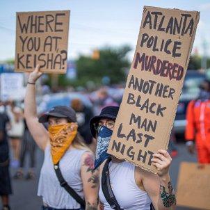 Manifestació Atlanta assassinat negre   EFE