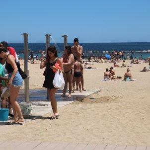 dutxes platges desconfinament barcelona - acn