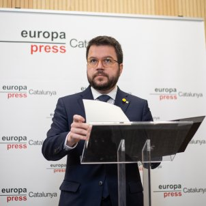 Pere Aragonès - Europa Press