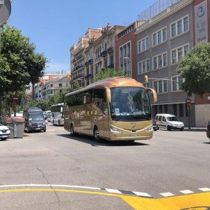 EuropaPress - protesta autocars barcelona