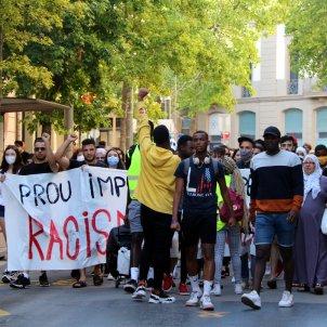 manifestacio antiracista manresa - ACN