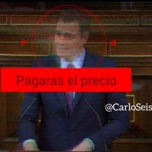 Pedro Sánchez DAESH Twitter @CarloSesisdedos