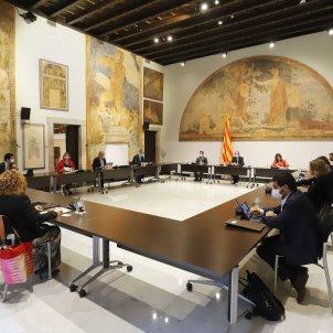 reunió consell executiu 16 juny 2020 saló  torres garcia/ Ruben Moreno