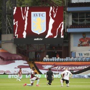 Premier League George Floyd racisme Aston Villa EFE