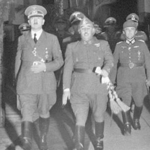 Hitler Franco Hendaia 1940. E.N.