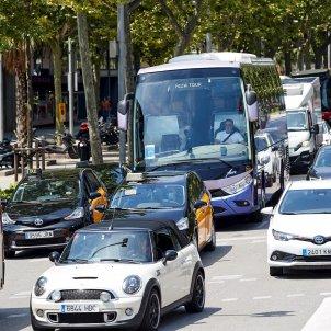 transit mobilitat protesta autocars efe