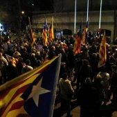 manifestació Homs Girona - ACN