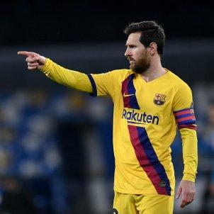 Leo Messi Barca groc senyal Europa Press