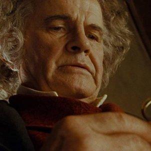 Ian Holm Bilbo Saquet. El senyor dels anells