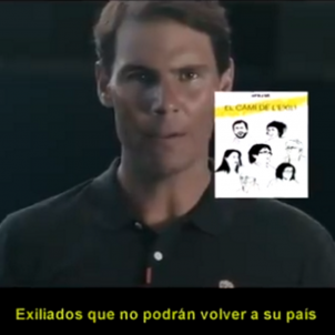 Rafa Nadal video hackejat