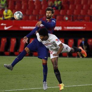 Pique Kounde Barca Sevilla EuropaPress