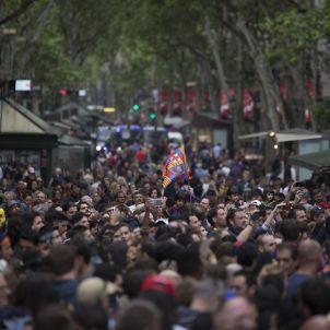 Rambla Canaletes Barça SergiAlcazar