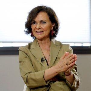 Ministra Carmen Calvo EFE