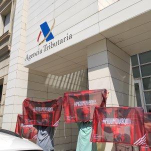 protesta consell republica delegacio agencia tributaria sabadell - Europa Press
