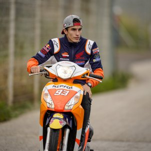 Marc Marquez Honda scooter Europa Press