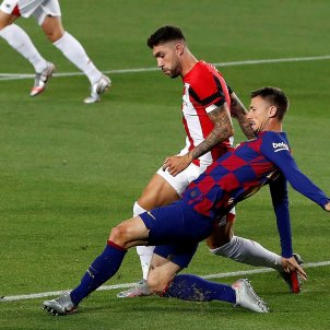 Lenglet Unai Nunez Barça Athletic EFE