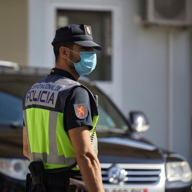 agent policia espanyola CNP - Efe