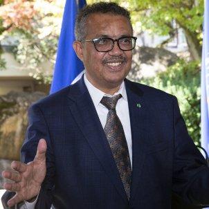 Tedros Adhanom director general OMs coronavirus - Efe