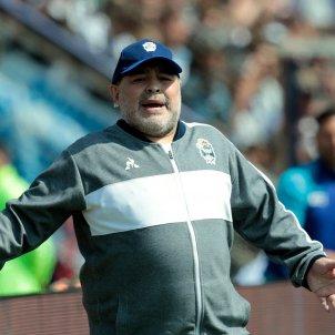 Diego Armando Maradona entrenador Europa Press