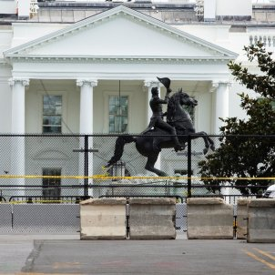 Estatua expresident Estats Units Andrew Jackson Casa Blanca - Efe
