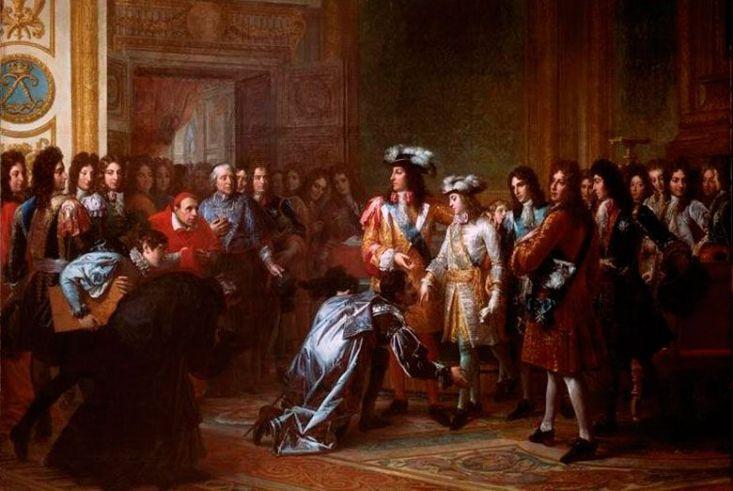 Coronació de Felip V. Font Musée de Versailles