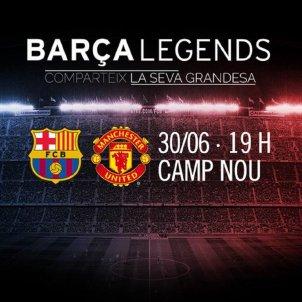 Barça Legends Manchester United FC Barcelona